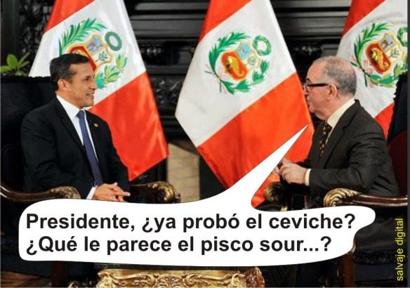Entrevista al presidente Ollanta Humala